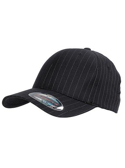 Flexfit Pinstripe Baseball Cap Flexfit Cap Kappen Hüte Grosshandel
