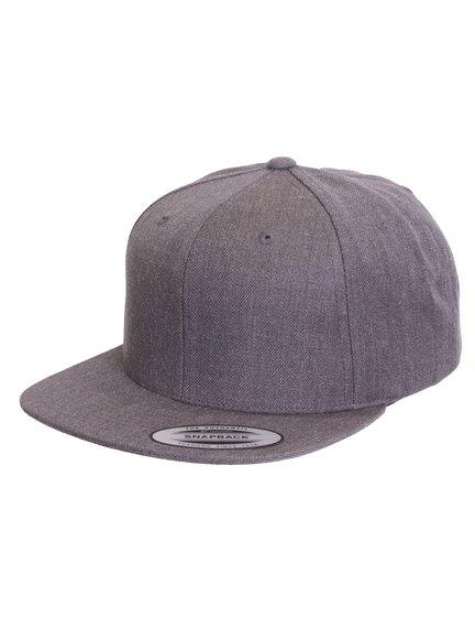 Yupoong Classic Unicolor Snapback Cap Flexfit Cap Kappen Hüte Grosshandel